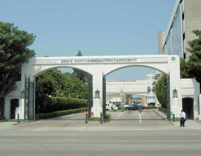 Sony Pictures Entertainment Entrance | © Coolcaesar/WikiCommons