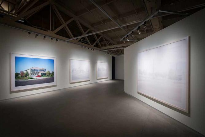 Graham, The Whiteness of the Whale, 2015 (Installation View)| Courtesy of Pier 24 Photography, San Francisco