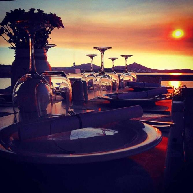 Enjoy the Sunset at Siparos