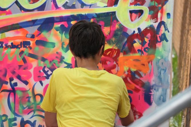 """Elliot """"Tupac"""" Urcuhuaranga Cárdenas, artist, muralist"""