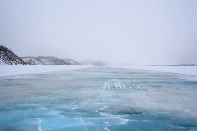 The Ice Highway in Tuktoyaktuk | Courtesy of Ian Mackenzie/Flickr