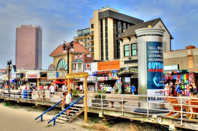 Art Cnter Near Tanger Outlets In Atlantic City