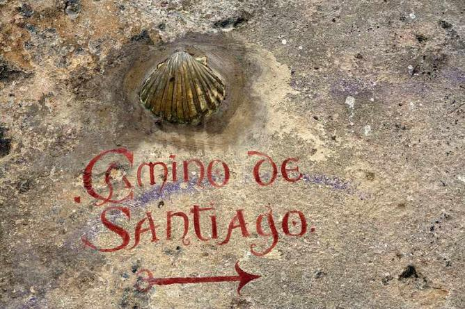 Sign indicating the Camino |© M a n u e l / Flickr