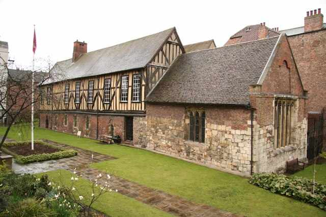 Merchant Adventurers Hall © Richard Croft/WikiCommons