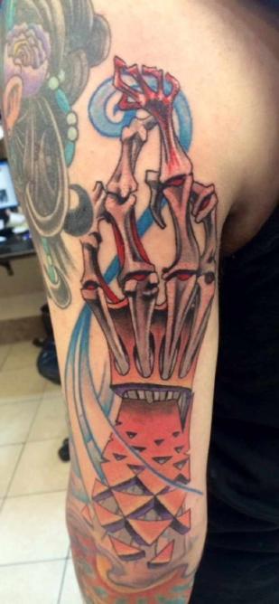 Arm tattoo | courtesy of Ben Wahhh