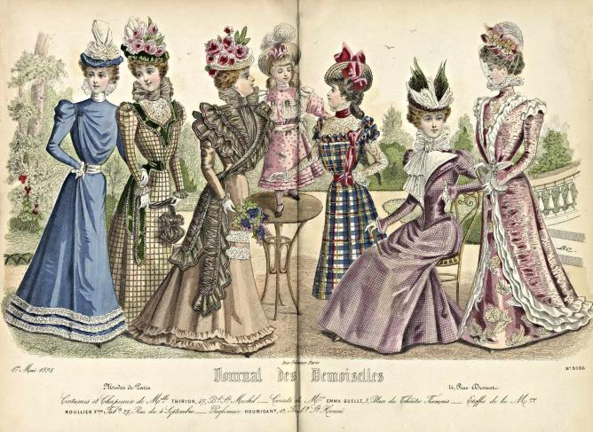 1898 Ladies' Clothing Catalogue   © Special Collections Toronto Public Library /Flickr