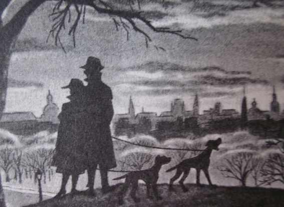 London Skyline in Disney's 101 Dalmatians