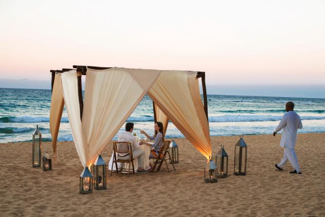 Excellence Punta Cana: Dinner on the Beach | Courtesy of Excellence Resorts