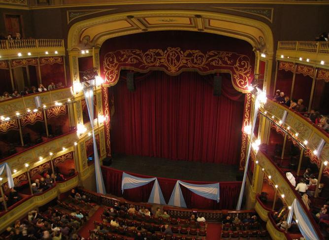 Teatro Libertador, Córdoba (interior) | © Alicia Nijdam/Wikicommons