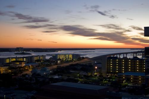 Courtesty A beautiful sunset over Orange Beach