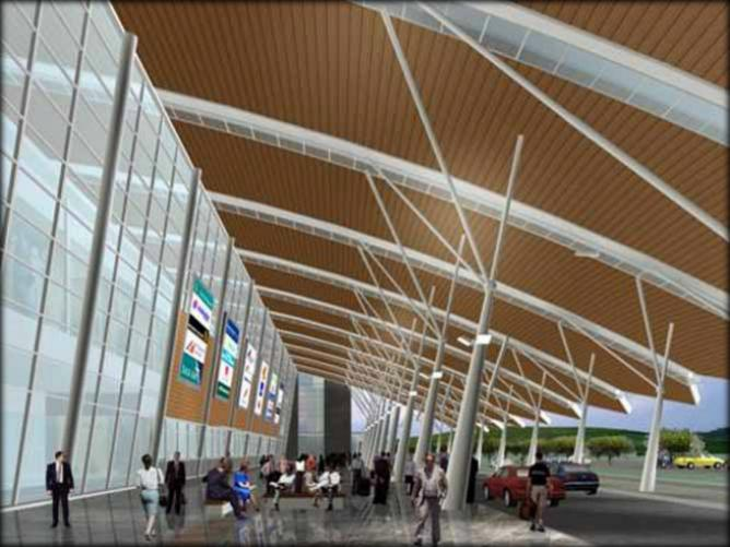 the rendering of new samarinda airport part 1 sandarwwikicommons - Great Modern Architects