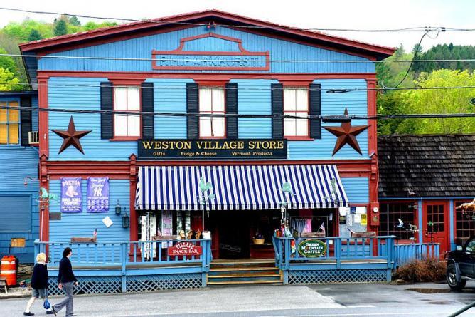 Village Store, Weston, Vermont | © Magnus Manske/WikiCommons