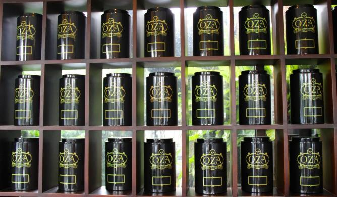 oza tea house indonesia