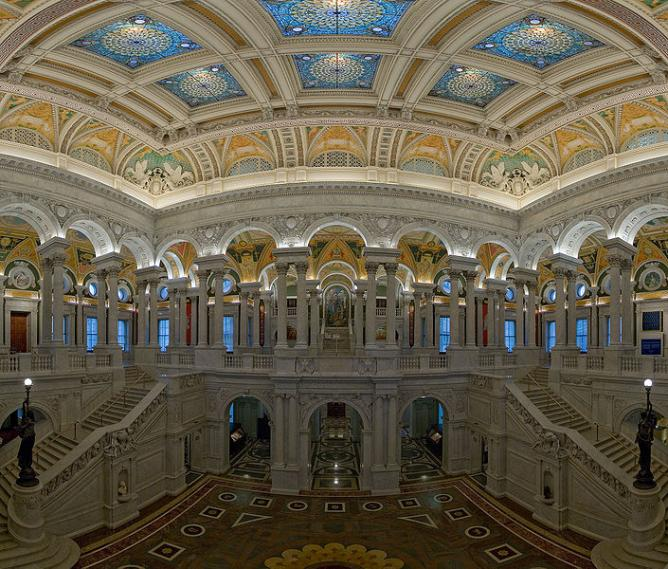 The Library of Congress Great Hall