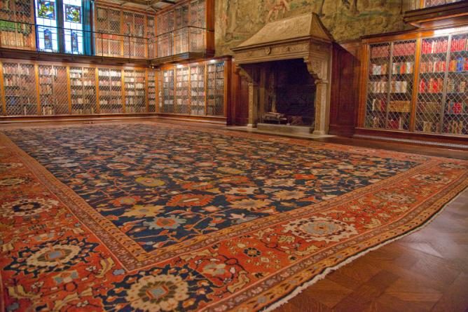 Antique Sultanabad at the Morgan Library