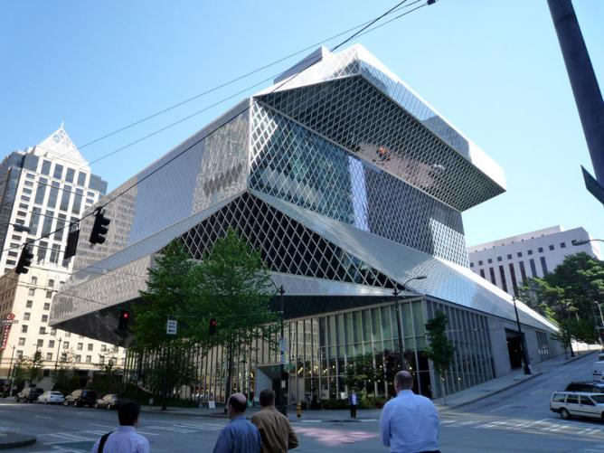 Seattle Central Library    © Bobak/Wikicommons