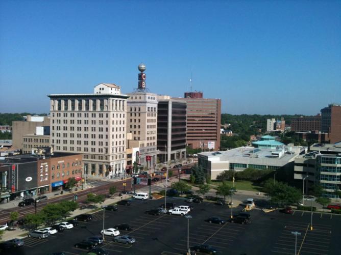 Downtown Flint | © Flintmichigan/WikiCommons