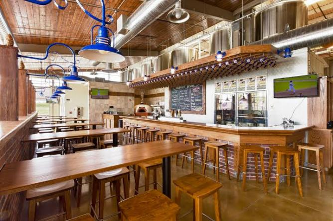 Backpocket Brewing Interior | Courtesy of Backpocket Brewing