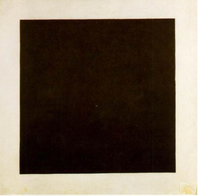 Malevitch black square russian art