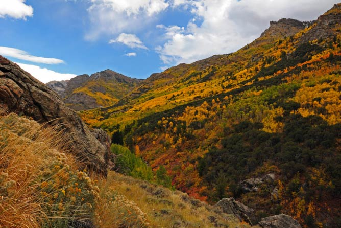 Ruby Mountains in the fall | © Susan Elliot/U.S. Department of Agriculture/Flickr