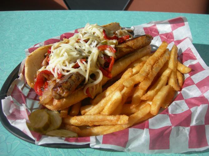 The Roman Sausage Sandwich, Hullabaloo | © Jimmy Emerson/Flickr