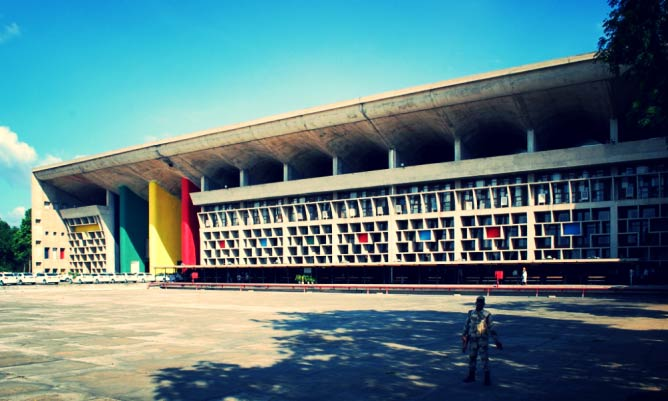 Palace of Justice, Chandigarh | © Sanyam Bahga/Courtesy of WikiCommons