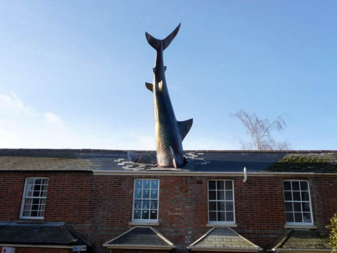 Headington Shark | © James Turnbull/Flickr