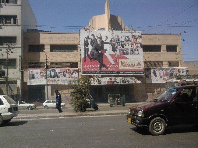Cinema in Karachi, Pakistan | © Shoaib Ali Zahid/Flickr