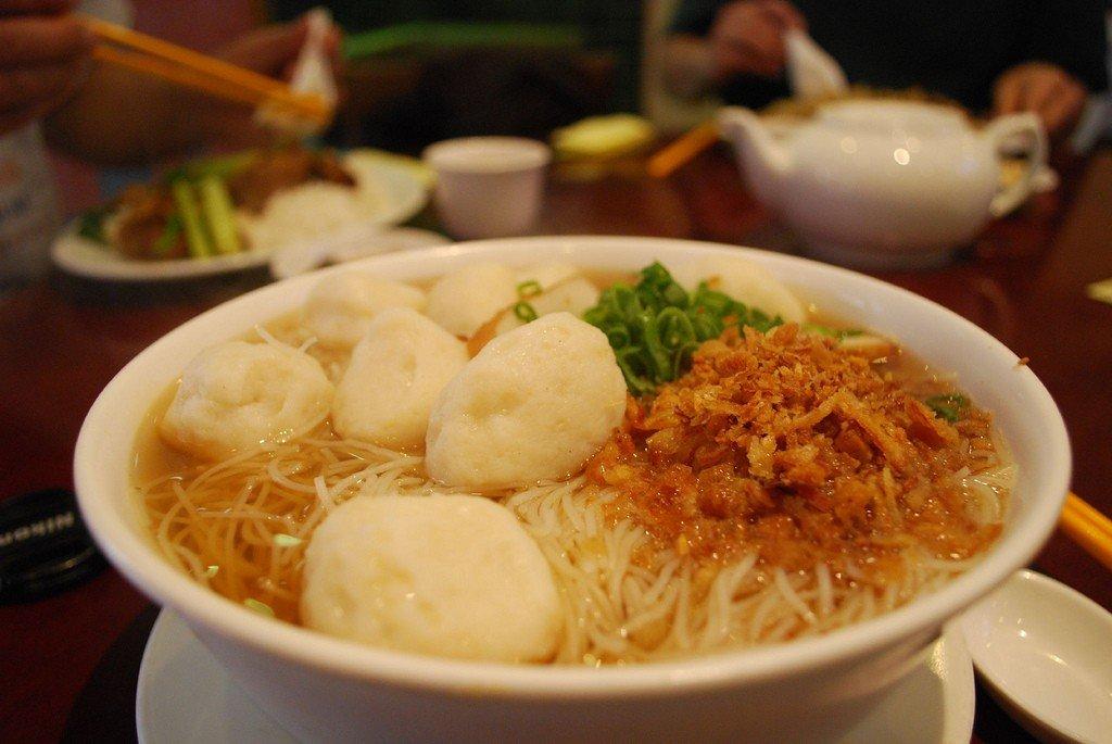 Fish Ball Noodles © Alpha/Flickr