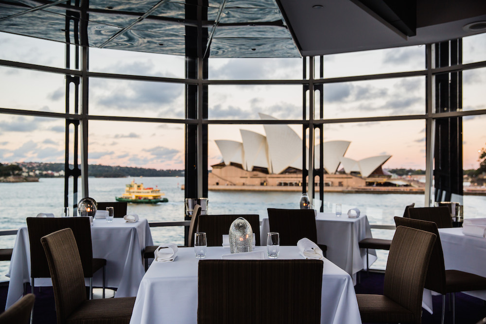 The restaurant also offers breathtaking views of Sydney Harbour © Courtesy of Quay / Credit: Nikki To