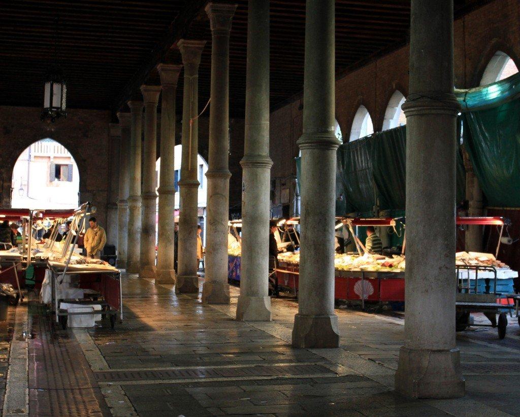 Rialto fish market, Venice ©richard evea