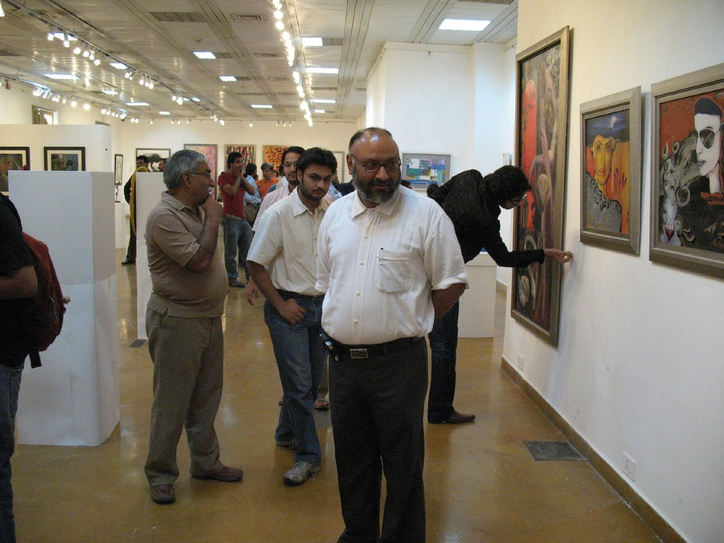 Openning art exhibition ©harpreet singh