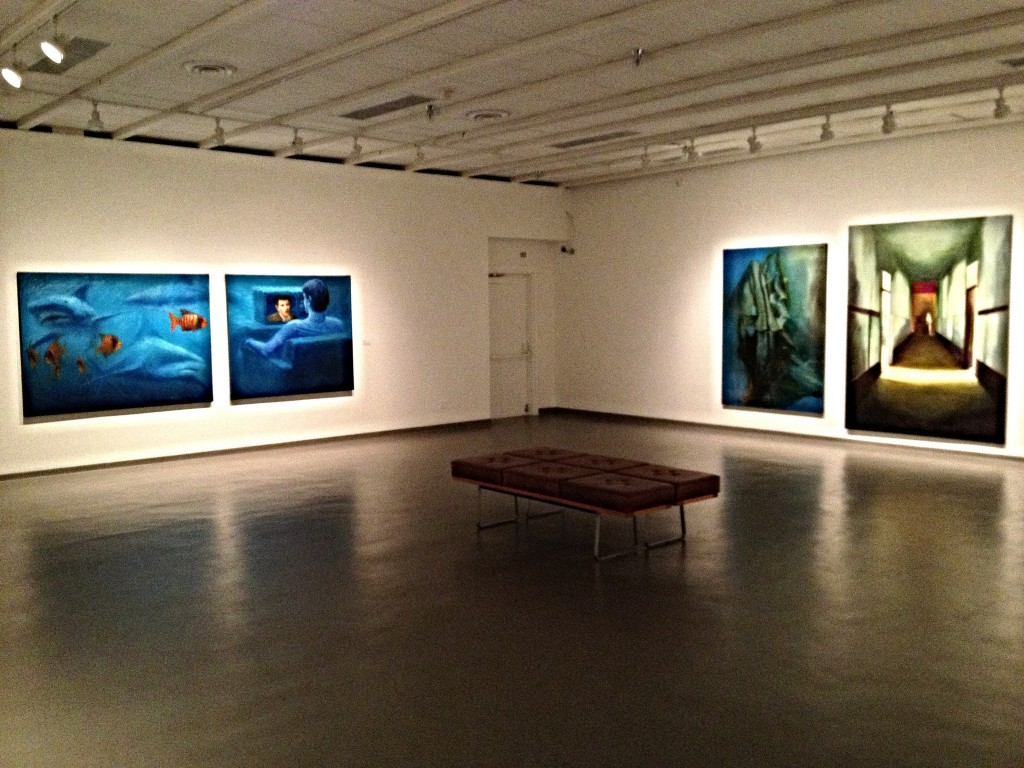 Art Gallery floor © Kim Siever