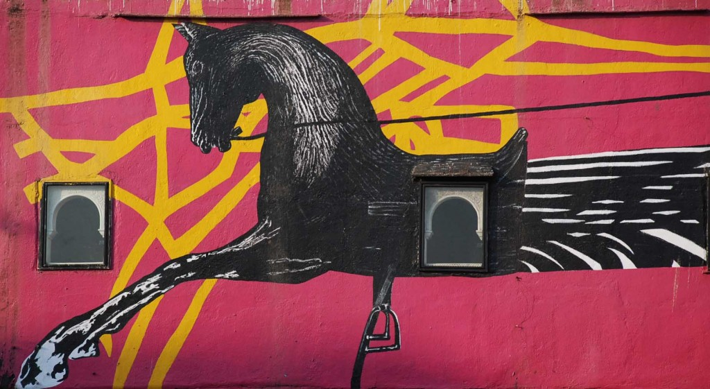 Kala Ghoda Graffiti/ Mural | ©Mathanki Kodavasal/Flickr