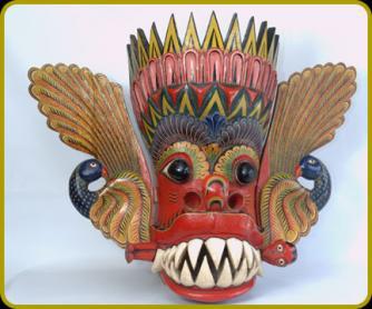 Maru Raksha mask/ © Ariyapala Mask Museum