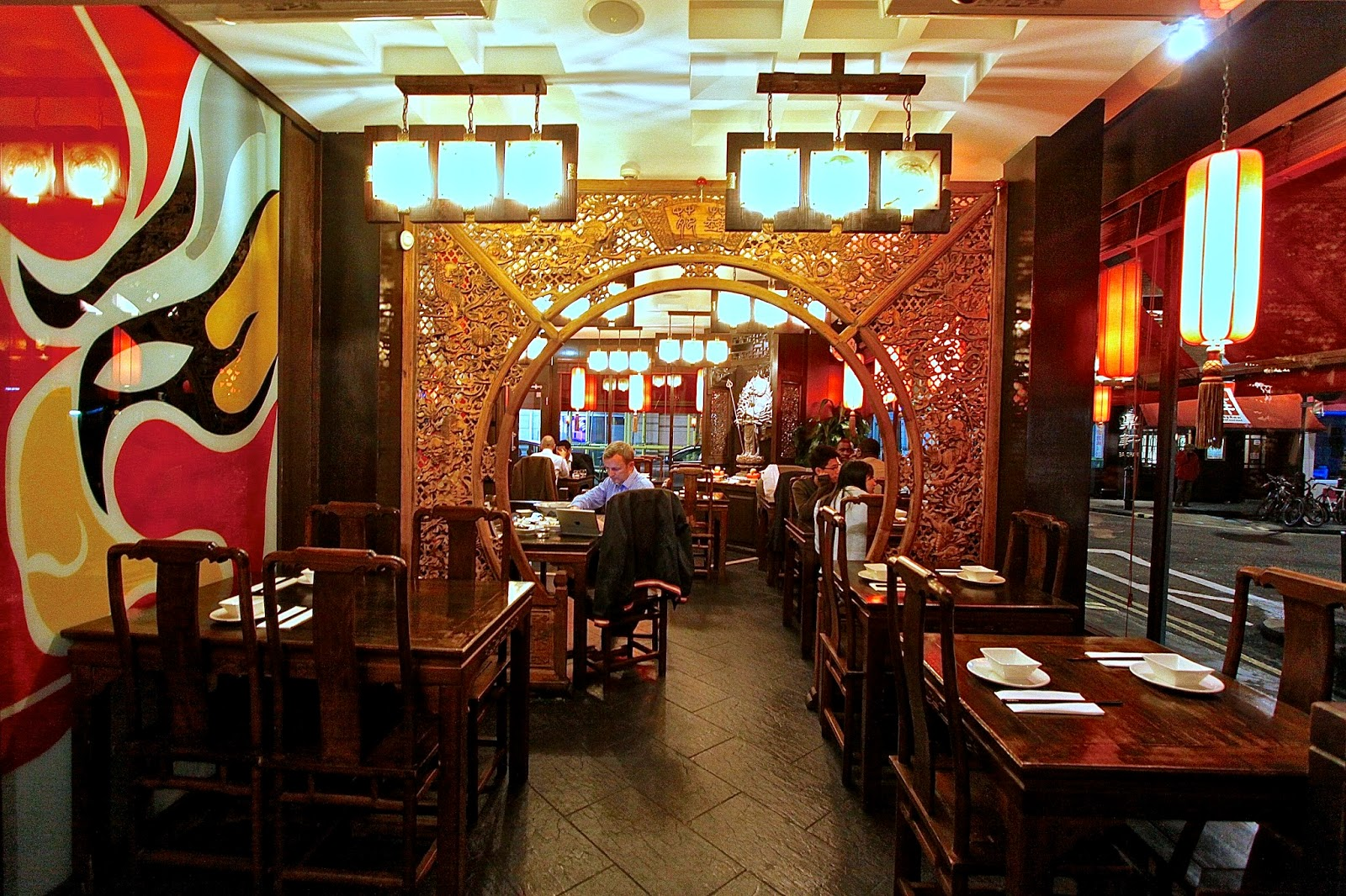 Asian restaurants in london