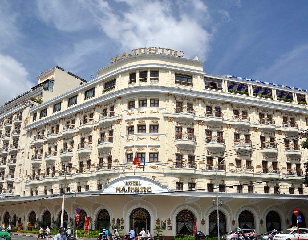 Majestic Hotel in Dong Khoi Street, Saigon | © NigelSpiers/Shutterstock