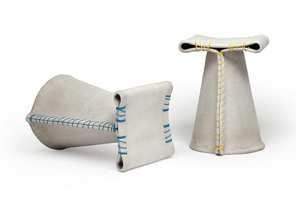 Stitching concrete | via Florian Schmid