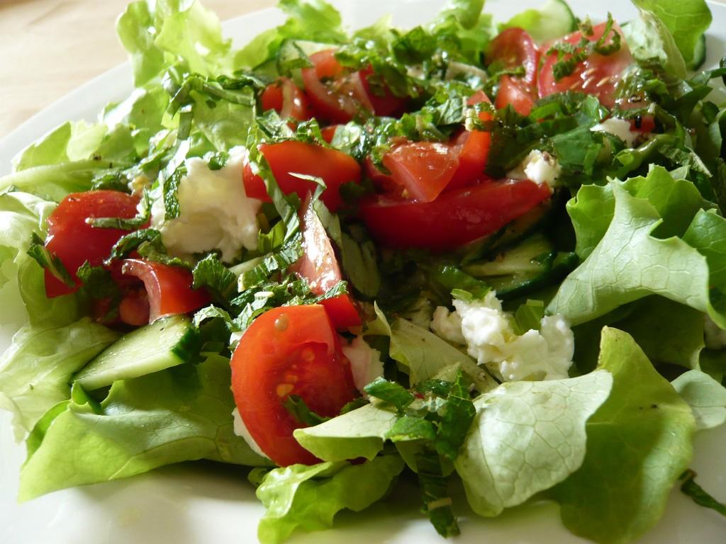 Lunchtime salad ©Jessica Spengler