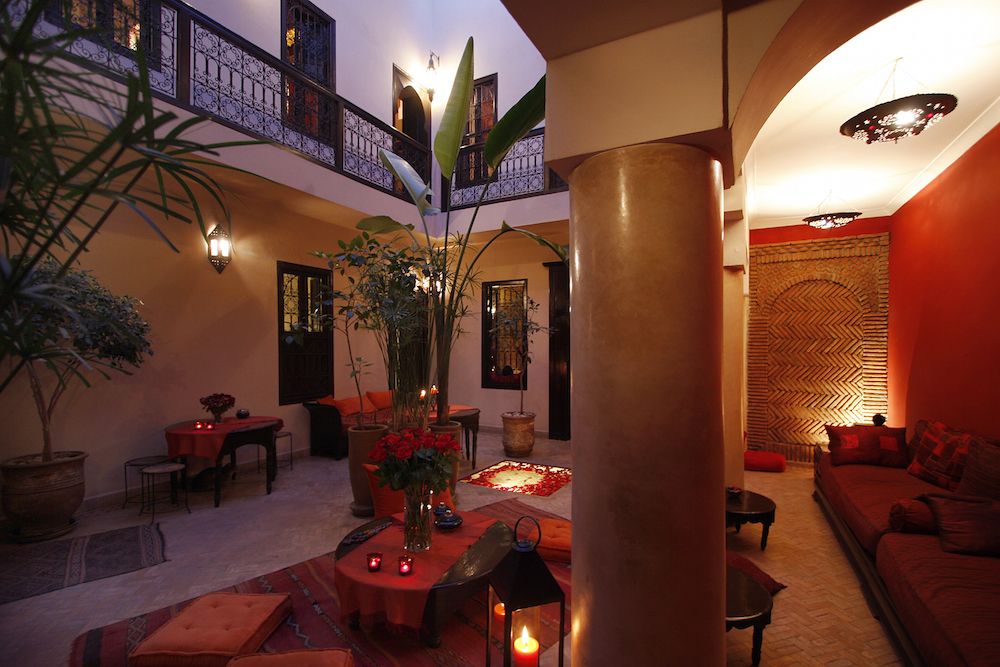 Just a few steps from Jemma El Fna square, Riad Boussa is a four-bed riad in the Debachi area of Marrakech © Courtesy of Riad Boussa