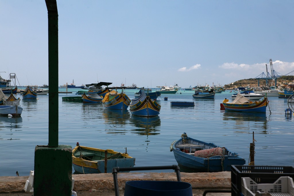 Fishing Boats, Malta | ©askii/Flickr