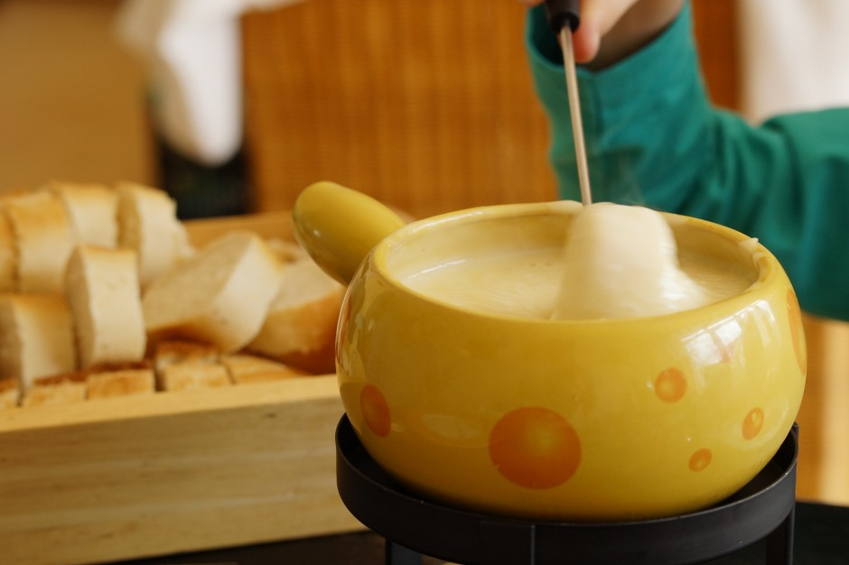 Cheese Fondue is a Swiss classic