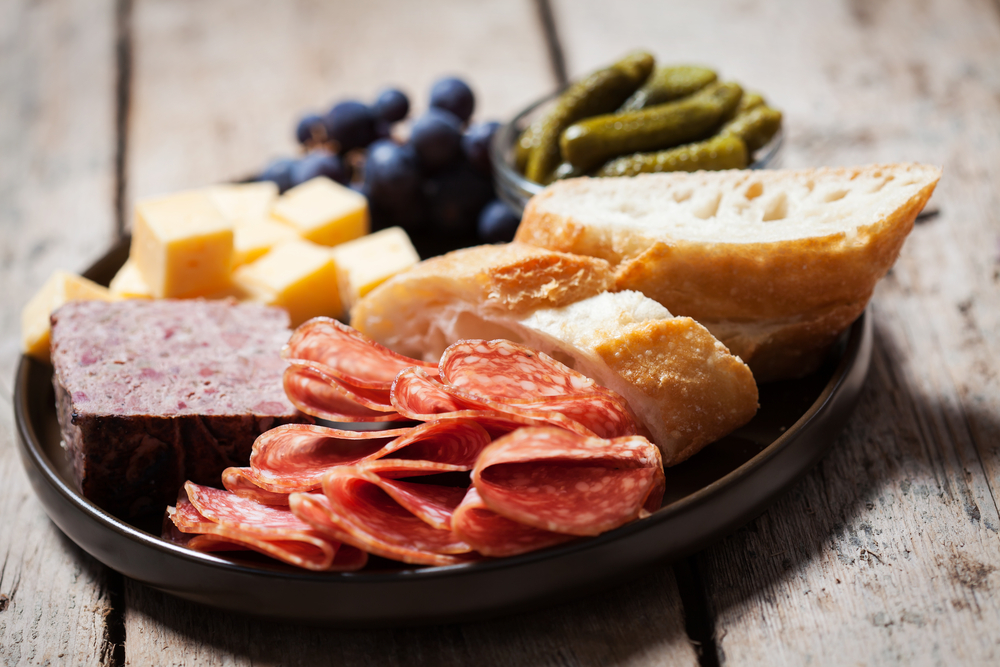 The house-cured charcuterie plate is the perfect choice © Natalia Van Doninck / Shutterstock