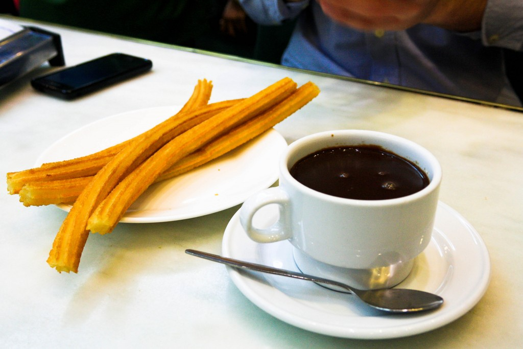 Churros at Hot Chocolate ©Marta Lino