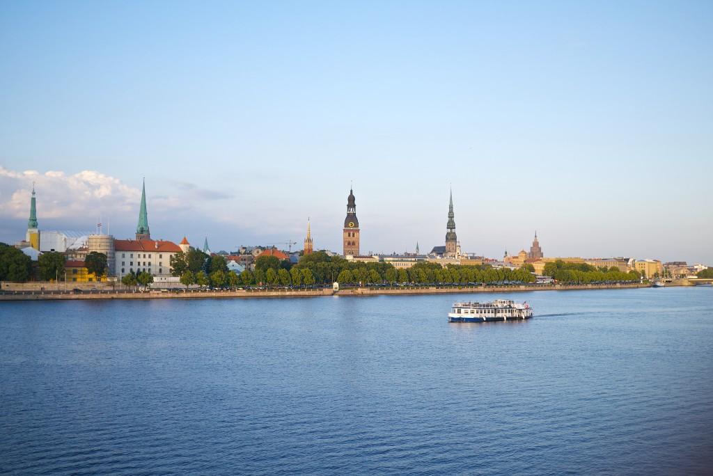 Daugava Shore, Riga | ©Kārlis Dambrāns/Flickr