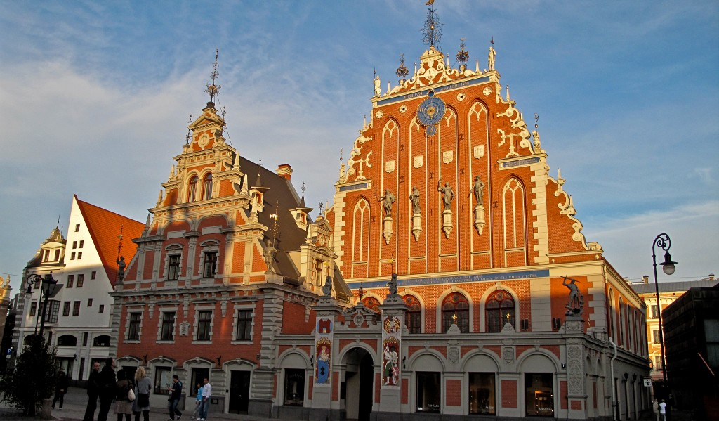 Riga Schwarzhäupterhaus | ©TausP./Flickr