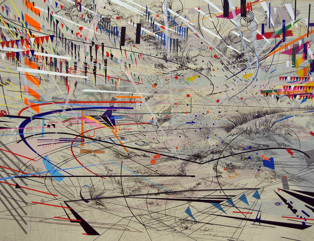 2011-08-27 San Francisco 013 MOMA, Julie Mehretu - Stadia 1 | © Allie Caulfield/Flickr