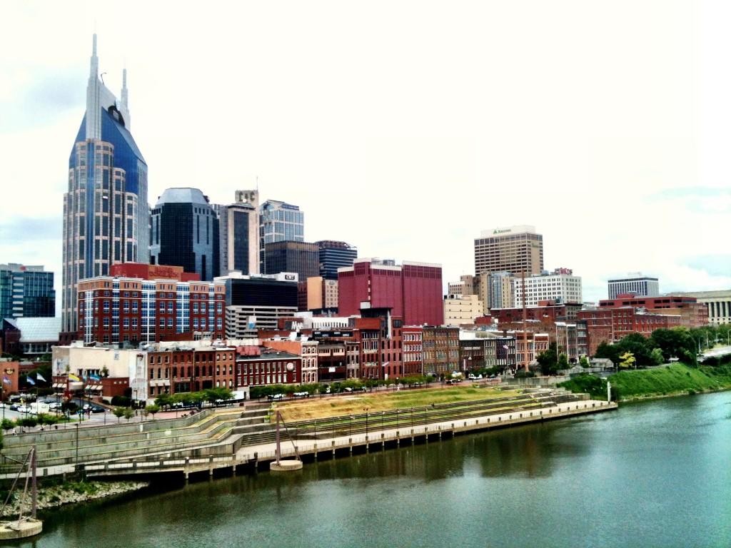 Nashville riverfront ©Brad Montgomery