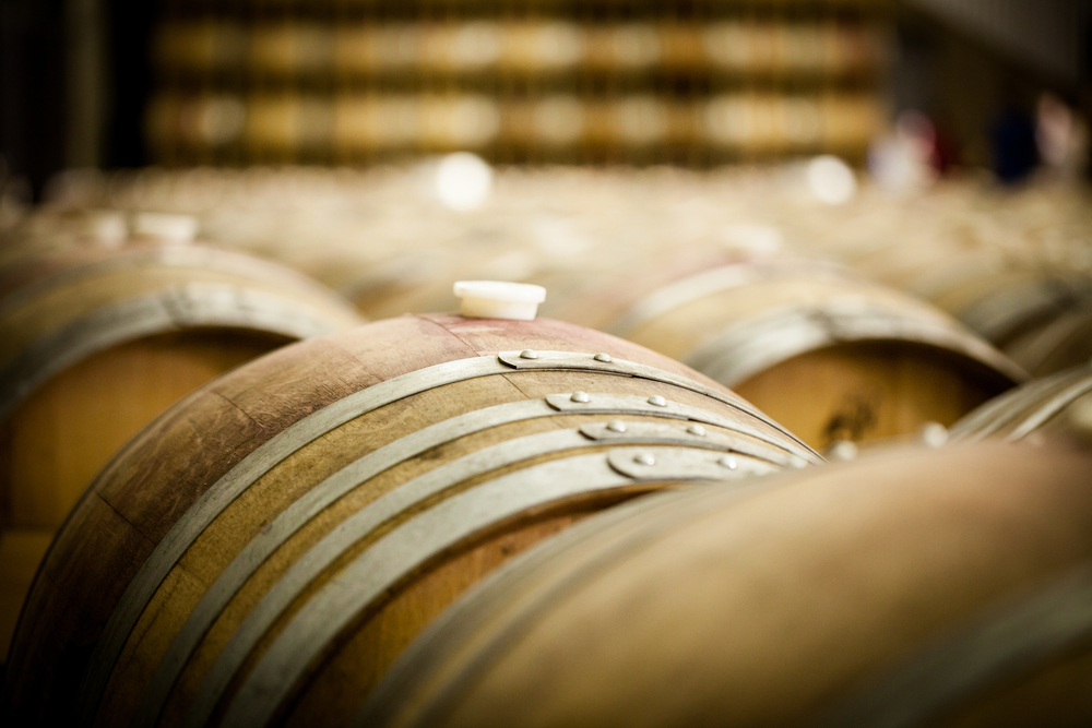 Bouza Bodega Boutique - Wine Barrels at a Winery © Sydneymills / Shutterstock