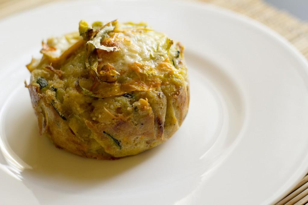 Zucchini and Zucchini Blossoms' Pie | ©Luca Nebuloni/Flickr